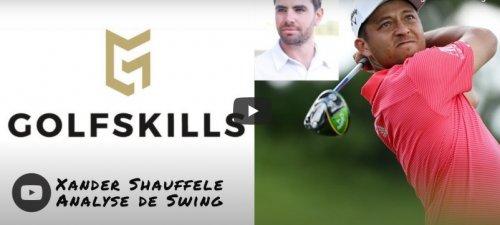 ANALYSE DE SWING : Xander Shauffele