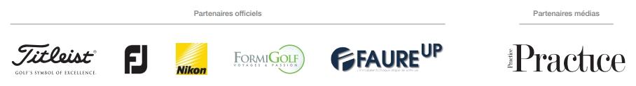 Les partenaires du Grand Prix des Enseignants PGA France 2017