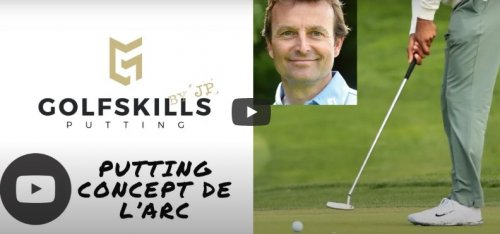 Putting - Concept de l'arc
